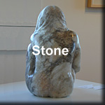Mother and Child - Stone Sculpture by Ed Hamilton