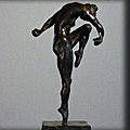 Upward Aspiration - Bronze Sculpture by Ed Hamilton